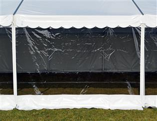 Z-Tents-side, kjeder - panorama - 2,2 m - hvit