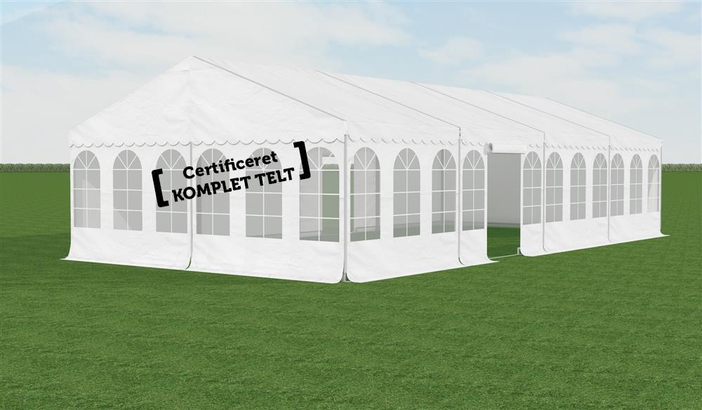 Fantastisk! Fantastisk mad Z-Tents aluramme - Komplett 6 x 12 m partytelt - Køb hos Utleie SC59