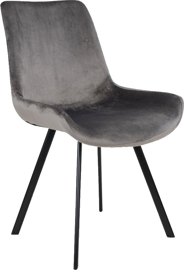 Mille stol svartgrønn velur Køb hos Utleie Partner